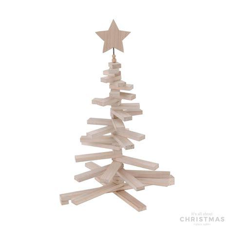 weihnachtsbaum holz 70x48cm white wash