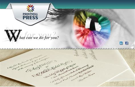 Getting Wedding Invitations Printed by Wedding Card Printing Printers For Stationery Getti With