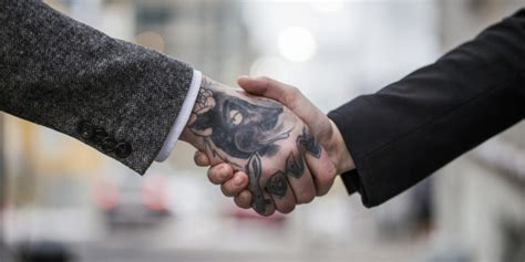 hand tattoo friendly jobs why being a tattooed individual shouldn t hurt your odds