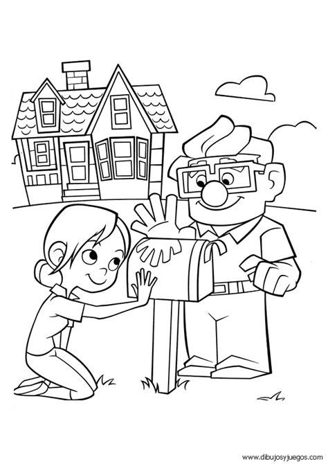 imagenes de wake up para colorear up disney 045 dibujos y juegos para pintar y colorear