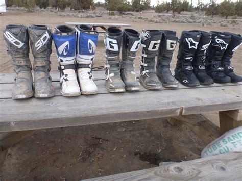 motocross boot comparison gaerne vs alpinestars moto related motocross forums