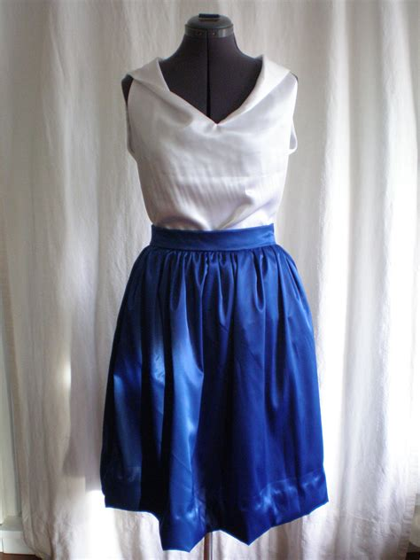 sewing pattern gathered skirt satin gathered skirt sewing projects burdastyle com