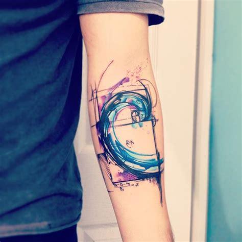 35 fibonacci spiral tattoos
