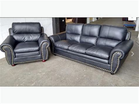 Black Studded Sofa 163 1200 Luxury Studded Black Leather Sofa Set We Deliver Uk