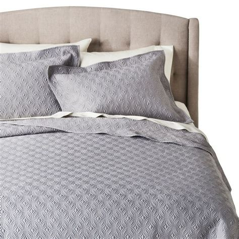 fieldcrest comforter fieldcrest 174 luxury silk allure quilt set gray queen