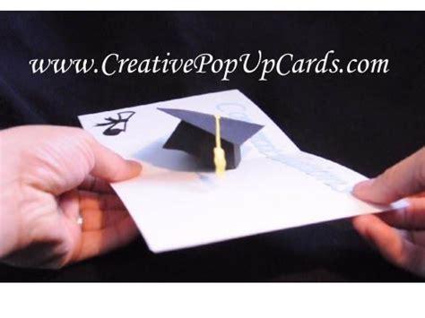 graduation pop up card template pdf 3d graduation cap pop up card template