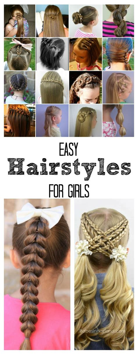 these are some easy hairstyles for school or 1000 ideas about easy school hairstyles on