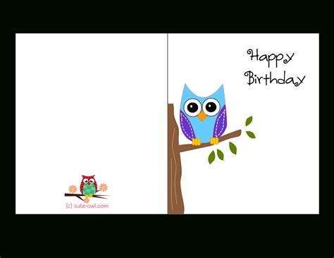Birthday Card Template Free Happy Birthday Cards Printable Gameshacksfree