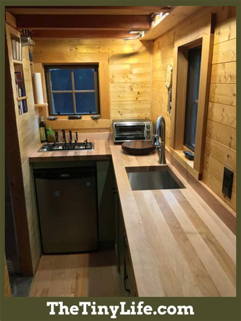 kitchen designs for small houses ryan s tiny house kitchen the tiny life