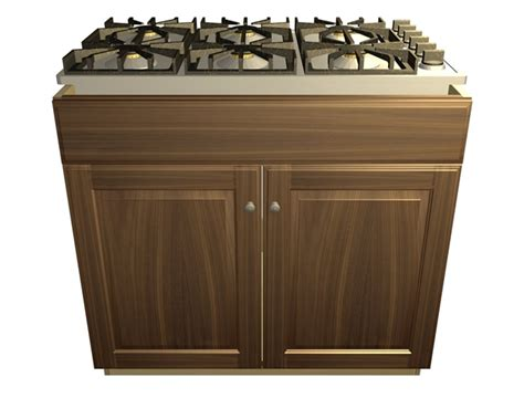 false front cabinet 2 door 1 false front cooktop base cabinet