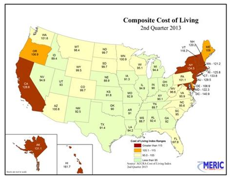 cheapest states to live cost of living usa 2013 best countries cities in the