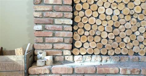 Birch Logs For Fireplace by Birch Log Fireplace Screen Hometalk