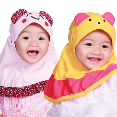 Jilbab Bayi 0 6 Bulan permata baby uk l jilbab anak bayi balita usia