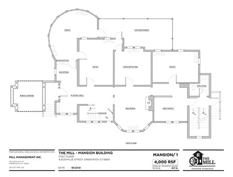 Office Building Floor Plans Pdf | office floor plans mill management