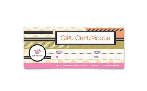birthday gift certificate template ms word word excel templates