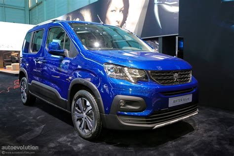 peugeot co 4x4 concept keeps the 2018 peugeot rifter company in