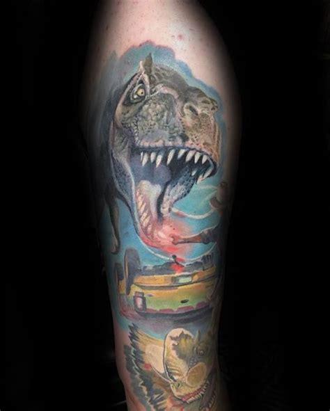 jurassic park tattoo designs 50 jurassic park designs for dinosaur ink ideas