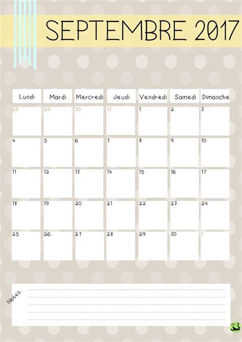 Calendrier Octobre 2017 Word Les 25 Meilleures Id 233 Es De La Cat 233 Gorie Calendrier 2017