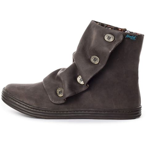blowfish rabbit womens ankle boots in brown