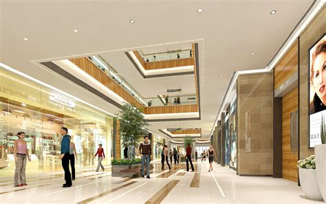 Interior Design For Shopping Mall by Interior Lighting Design Of Market Interior Design