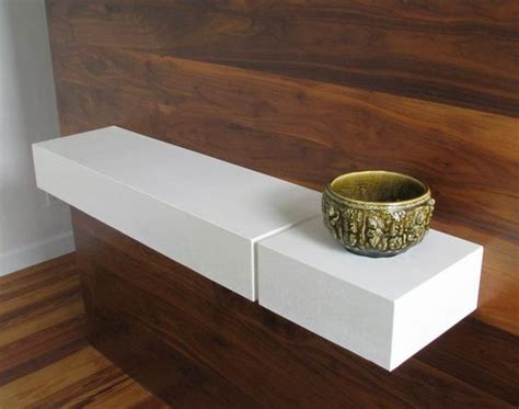 Concrete Floating Shelf by Concrete Furniture Floating Shelves And Bermudas On