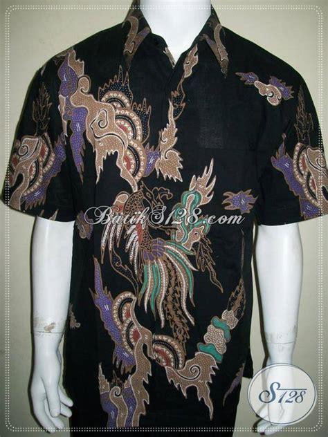 Batik Pria Katun Motif Burung batik tulis pria motif burung eksklusif dan elegan lengan pendek ld873t l toko batik