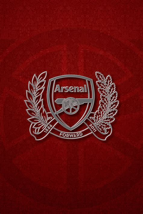 arsenal wallpaper iphone arsenal fc crest iphone wallpaper by mrstevecook on deviantart