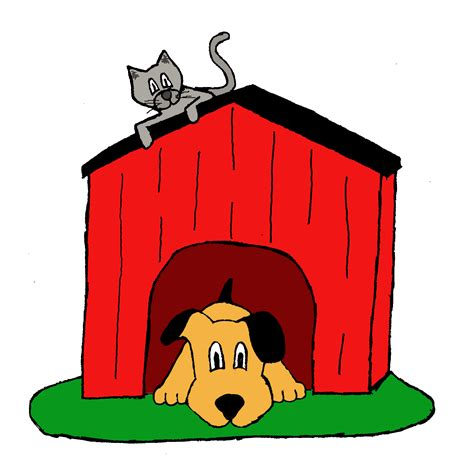 inside house dogs inside the dog house clipart clipartxtras