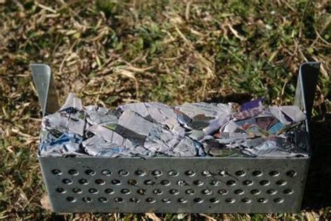 Paper Bricks For Burning - how i make and easy newspaper bricks for burning in