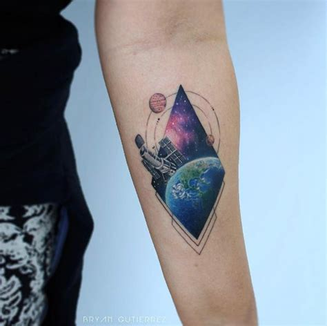 telescope tattoo telescope www pixshark images galleries