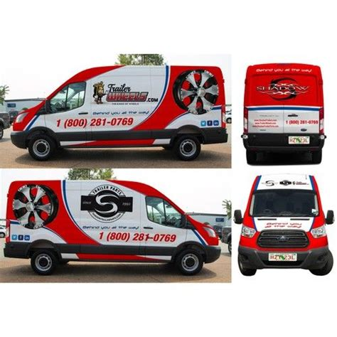 design graphics for van ontwerpen all over ford transit cargo extended wheel