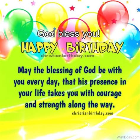 Happy Birthday God Bless You Quotes 10 Religious Birthday Wishes