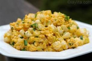 Meat Main Dish Recipes - mote pillo ecuadorian hominy with eggs laylita s recipes