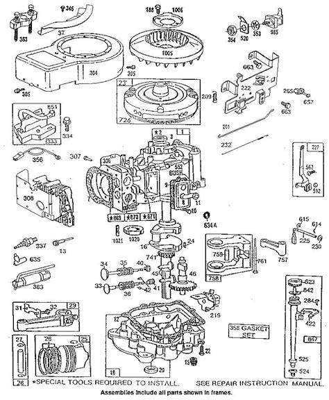 briggs and stratton engine parts diagram 8 hp briggs stratton engine diagram 8 get free image
