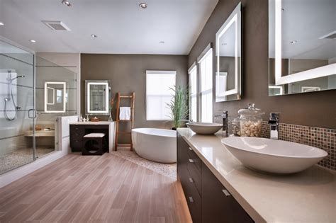 wood floor bathrooms 15 amazing modern bathroom floor tile ideas and designs
