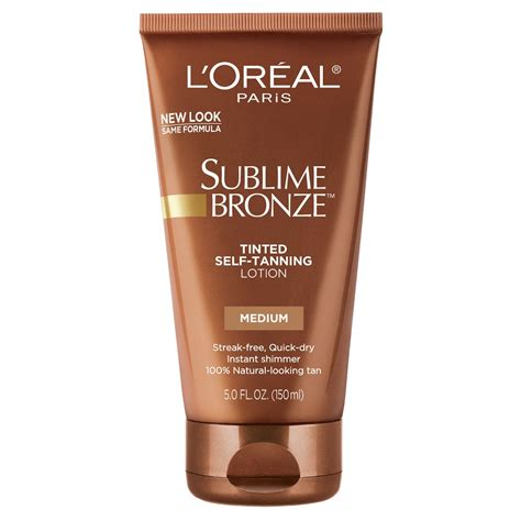 L Tinted by L Oreal Sublime Bronze Tinted Self Tanning Lotion
