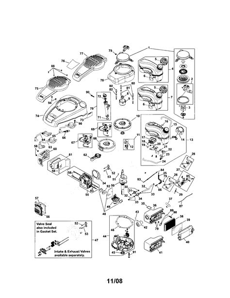 kohler engine parts diagram kohler engine parts model phxt1730031ea sears partsdirect
