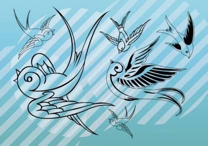 burung vector art vektor misc vektor gratis  gratis