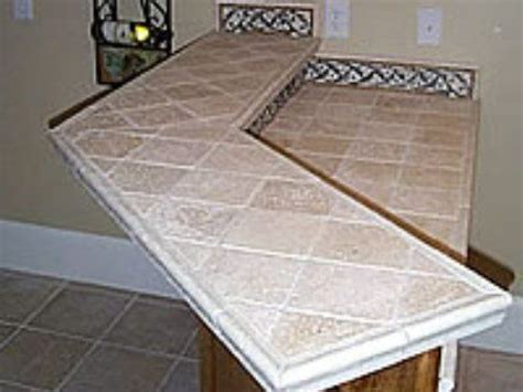 kitchen tile countertop ideas 41 best images about kitchen countertop ideas on adhesive tiles travertine