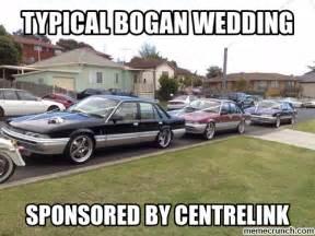 Straya Memes - bogan wedding