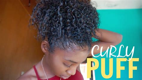 mid length tapered 4c hair how to curly puff for short medium length natural hair