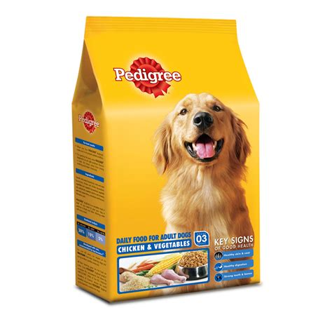 food for dogs pedigree food