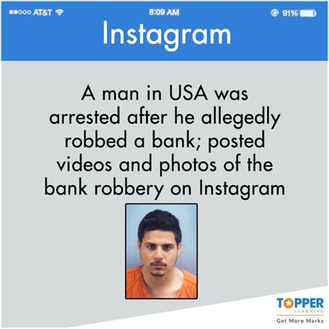 man arrested after posing on facebook with bank robbery now this is called stupidity didyouknow facts