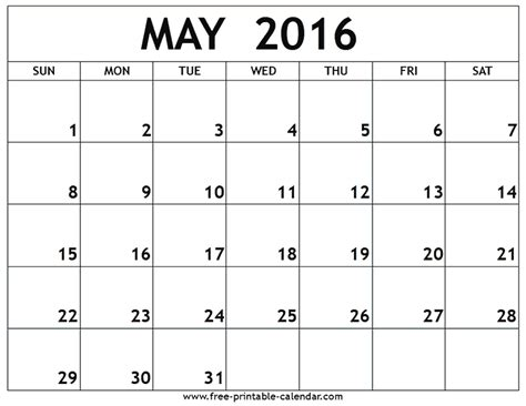 free printable monthly planner 2016 uk may 2016 calendar