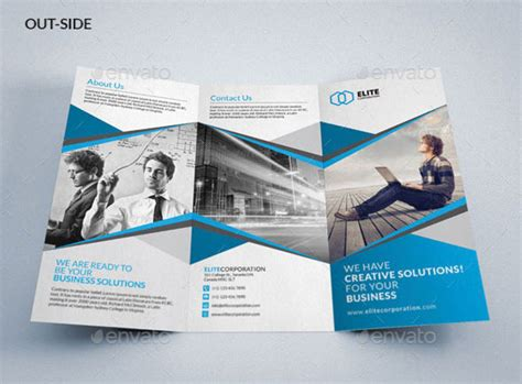 brochure 3 fold template psd tri fold brochure templates psd www pixshark images galleries with a bite
