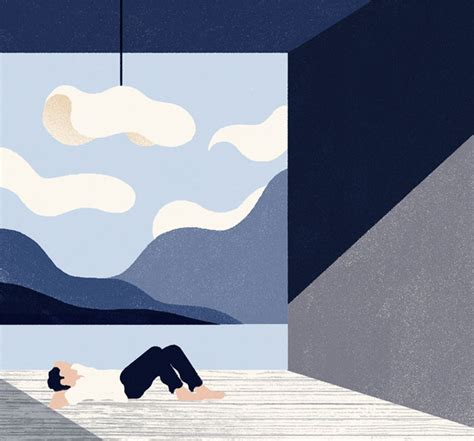Digital Detox Illustrations by Editorial Illustrations By Andrea Mongia