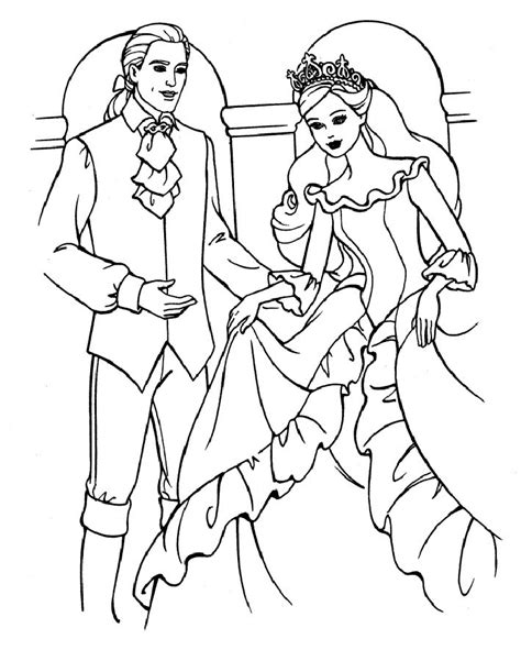 ken doll coloring page barbie coloring pages learn to coloring