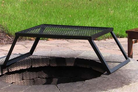 Firepit Grate Large Pit Grate 187 Design And Ideas