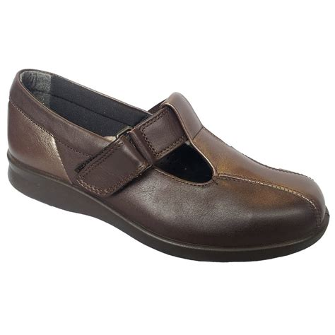 easy b womens rowena brown espresso velcro shoes