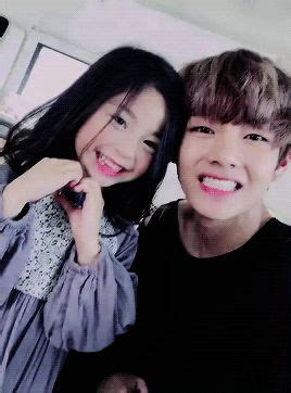 kim taehyung sister our taehyung and the little model 3 tae tae bae bae